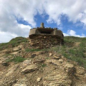 Old WW2 bunker.