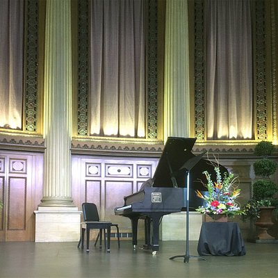 Lyric Theater stage set for recital