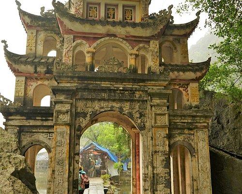 La porte d'accès à la pagode de Jade