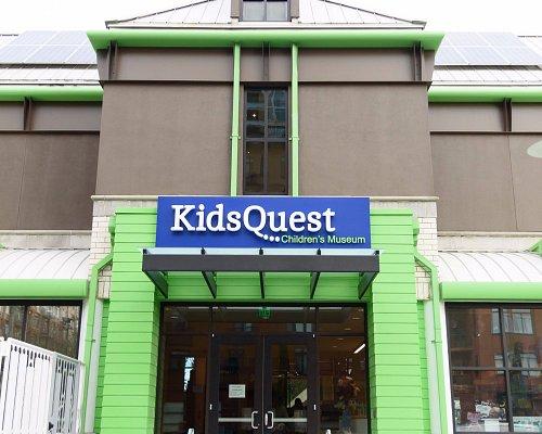 KidsQuest's exterior in downtown Bellevue.