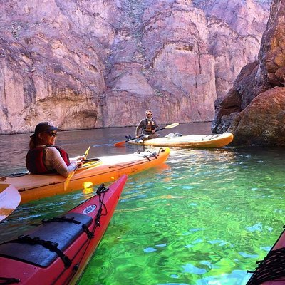 Emerald Cave, paddling the Colorado River,  Black Canyon, Outdoor adventure,  Las Vegas Kayak To