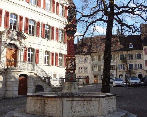 Delémont - Fontaine de la Vierge