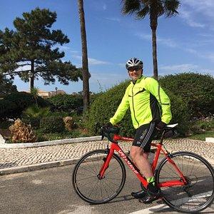 Das Rad haben wir von Bike Algarve gemietet