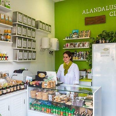 Tienda Alándalus en Cadiz gourmet, delicatessen