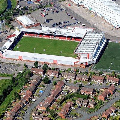 Aerial Shot of Banks's Stadium