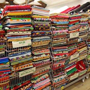 Cotton fabrics by weight