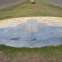 Reloj Solar en la Rambla de Punta del Este