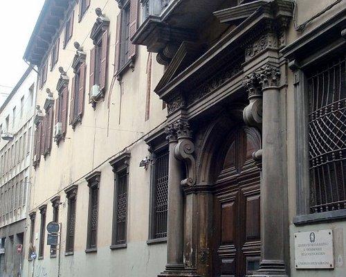 Vista della facciata esterna