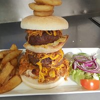 Double stack burger