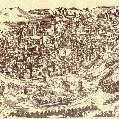 Plano de la ciudad S XVI.