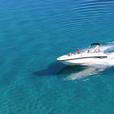 Beautiful sightseeing and/or watersports boat cruise with our amazing Captains!
