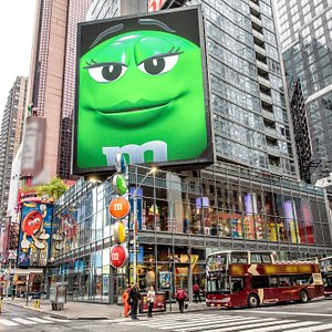 Welcome to M&M'S World Times Square
