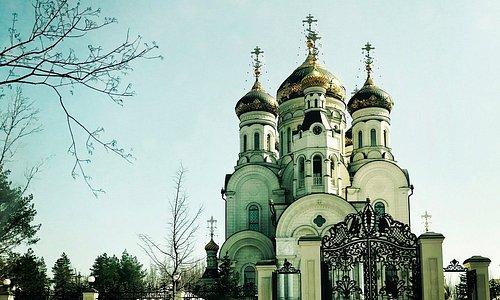 Ukrainian Orthodox Church in Horlivka, Dontesk Oblast, Ukraine