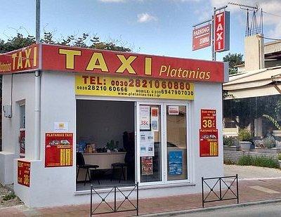 Platanias Taxi Office, Platanias, Chania, Crete