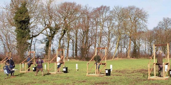 Clay pigeon shooting for all levels