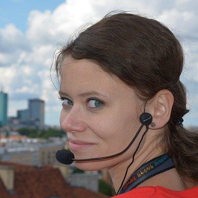 Warsaw Guide Małgorzata Brzózka - contemplating the panoramic view of the city