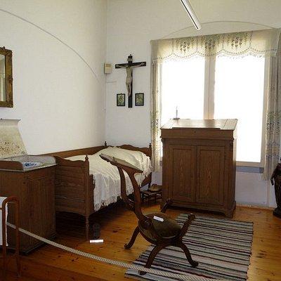 Schlafzimmer von Pfr. Kneipp