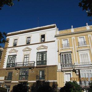 Building in Cadiz