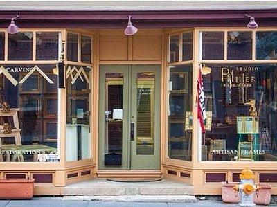 Entrance to P. H. Miller Studio in Berryville, VA