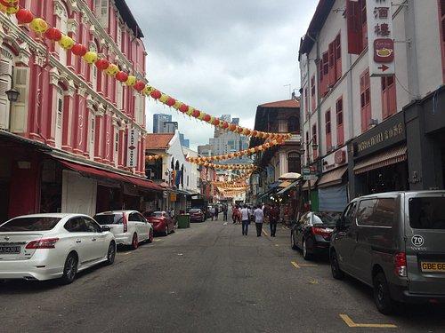 鄧波街景色