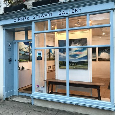 Gallery front during Phil Tyler: Green Sussex Fading Into Blue