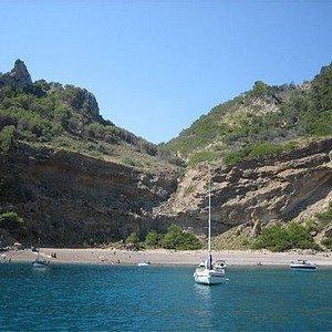 Coll Baix beach again
