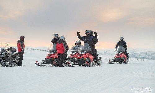 Snowmobile tour 2,5 hour, The Arctic light experience with Sorrisniva Safari