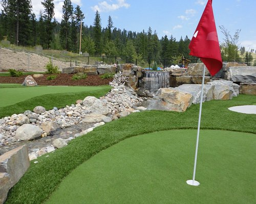 Try to get a hole in one!
