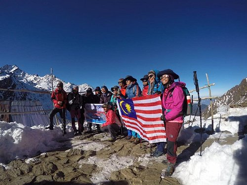Group picture during Langtang Gosaikunda Trekking on March 2017