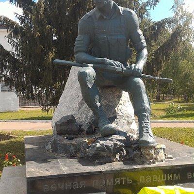Памятник воинам-афганцам, Бирск.