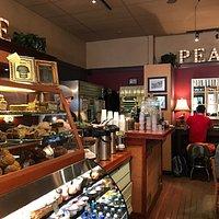 Coffee, inspired baked goods, tea & hot chocolate!