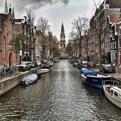 Zuiderkerk seen from Groenburgwal