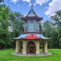 Čínský pavilon (Chinese pavilion)