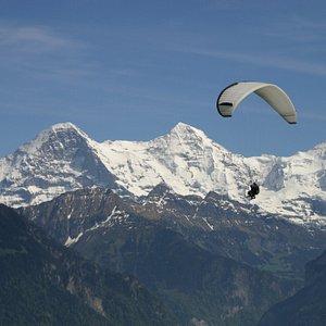 Jungfrau, Twin Paragliding Interlaken, Switzerland
