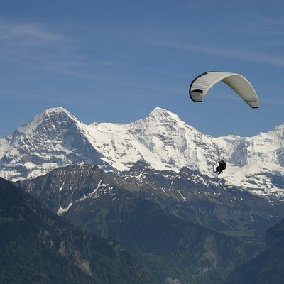 Jungfrau, Twin Paragliding Interlaken, Switzerland