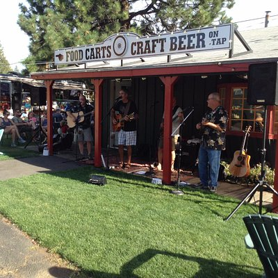 Live music Friday and Saturday nights. Starting May 26th-September 2nd, 5-7pm