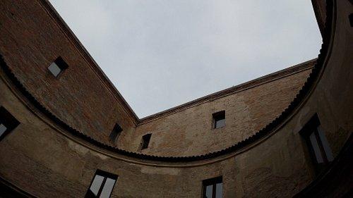 Cortile della Casa Mantegna