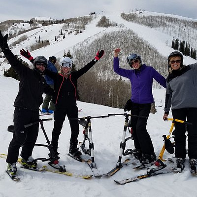 Ski bike March 2017 Park City