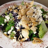 Our popular Heart Healthy Salad- Grilled chicken optional-Great vegetarian option