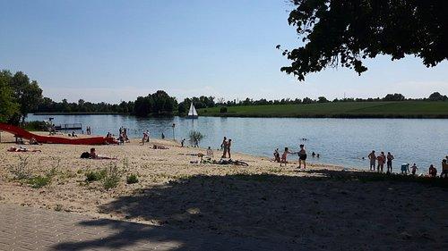 Plaża Jezioro Grzymysławskie