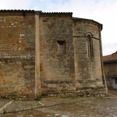 Exterior de la iglesia de San Gil