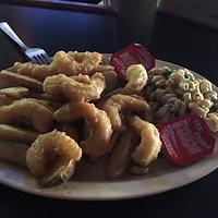 Victor Village Inn - my shrimp plate