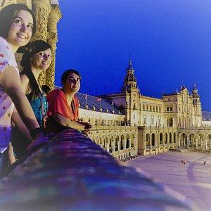 Visite sur les toits de Séville au crépuscule