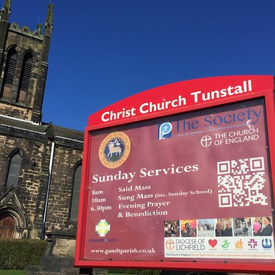 Christ Church, Tunstall. Stoke on Trent