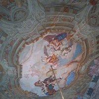 soffitto affrescato del salone nobile