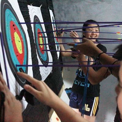 The Archery Academy, Greenhills, San Juan. To book a class, please contact +639178037422.
