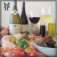 Fantastic wines and french cold cuts