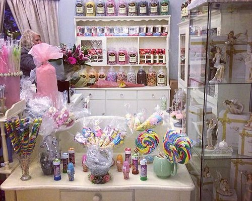 Old Fashioned Sweets with Fairies and  Handmade Cards