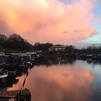 A lovely view of the marina and our Bistro Bar