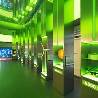 Une des salles d'exposition